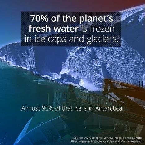 70% Of Earth's Fresh Water Is Frozen | Amazing Science | Scoop.it