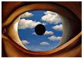 """Visual Culture: Analysis of the Rene Magritte's """"The False Mirror"""" 