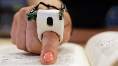 High-tech FingerReader reads to the blind in real time | Reading discovery | Scoop.it