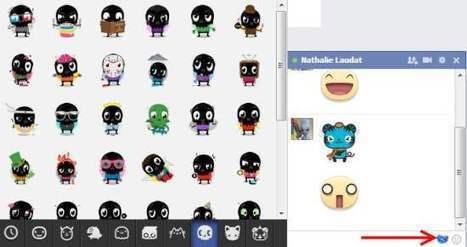 Ajouter des stickers à ses messages Facebook, Facemoji | Geeks | Scoop.it