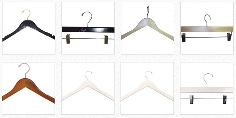 Wood Hangers – Unique and Specially Designed in Canada | Rollingracks.ca – Shop for wholesale and retail rolling racks, collapsible clothing racks, bags, steamer, hangers & much more in Canada, Toronto and around. | Scoop.it