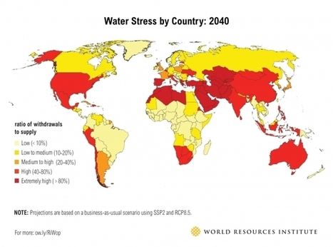 Ranking the World's Most Water-Stressed Countries in 2040 | Environment | Scoop.it