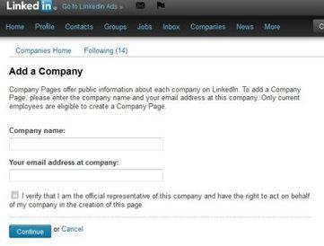 How to Build a LinkedIn Company Page | Business Development on LinkedIn Social Media | Scoop.it
