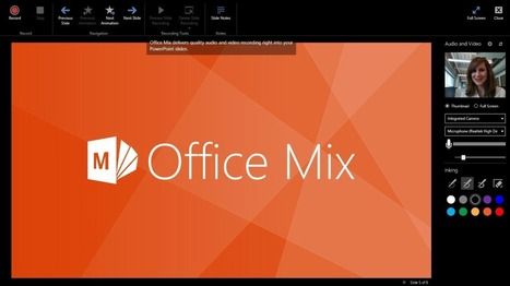 Introduction to Office Mix for PowerPoint | Office 365 Ninja | Personalized Learning | Scoop.it