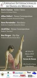 BALLET: Cursos de Danza. VIII Jornadas Internacionales de Danza en Menorca | Terpsicore. Danza. | Scoop.it