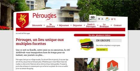 Pérouges | Site de l'Office du Tourisme de Pérouges | Sites qui ont implémenté les Widgets Sitra | Scoop.it