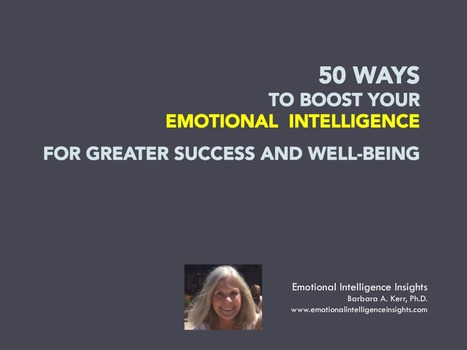 50 WAYS to BOOST |authorSTREAM | Emotional Intelligence Development | Scoop.it