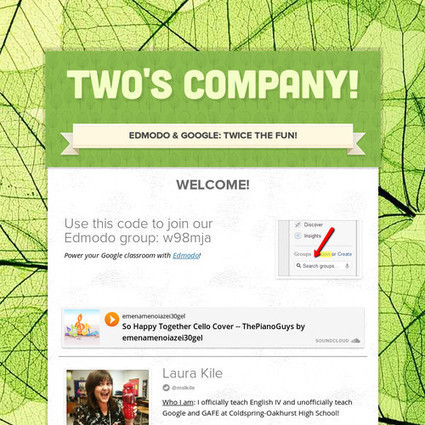 Two's Company! | All Things Google | Scoop.it