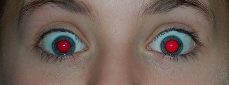 ¿Por qué salimos en las fotografías con los ojos rojos? | El cuidado de los ojos y de la visión | Scoop.it