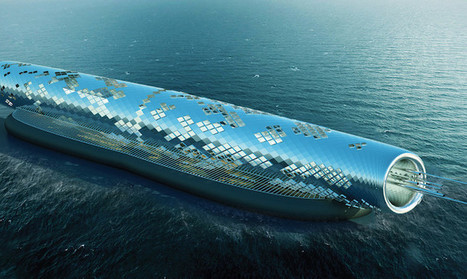Solar-Powered Pipe Desalinates Saltwater Into 1.5 Billion Gallons of Clean Drinking Water   Fragments of Science   Scoop.it