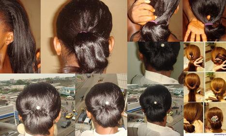 TheHairLover: Tuto coiffure: Chignon bas (Low bun) | Bruno Raconte-moi | Scoop.it