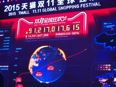 Alibaba crushes records, brings in $14.3 billion on Singles Day (UPDATED) | Digital & Mobile Landscape Asia Pac | Scoop.it