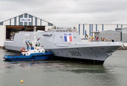 Mise à flot de la FREMM Languedoc   Veille Domaine Naval   Scoop.it