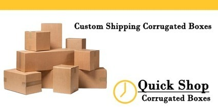 Custom Shipping Corrugated Boxes - Knowledgebase - Liquid Printer Inc. | Manufacture Online Custom Boxes | Scoop.it