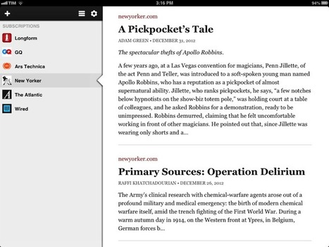 Longform for iPad | iPhones and iThings | Scoop.it