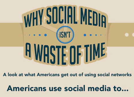 Social Media is Not a Waste of Time [Infographic] | visualizing social media | Scoop.it