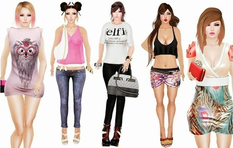 Dollies Be Crazy: Miss 57 ♥ All Outfit Gift ♥ | Finding SL Freebies | Scoop.it