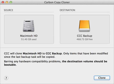 Features   Carbon Copy Cloner   Bombich Software   Mac Tech Support   Scoop.it