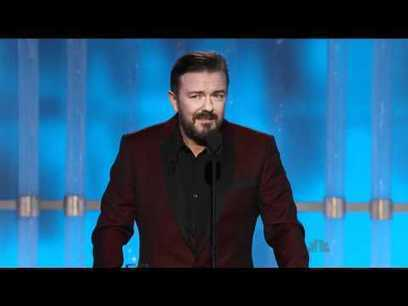Golden Globes 2012 - Ricky Gervais Opening Monologue | Winning The Internet | Scoop.it