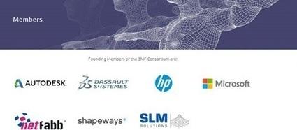 Microsoft supporta il 3MF Consortium: nuovo formato dei file per la stampa 3D - Faq Drone Italy | Tutto3D.com | Scoop.it