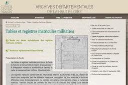 GénéInfos: Du nouveau en ligne pour les archives de la Haute-Loire | Rhit Genealogie | Scoop.it