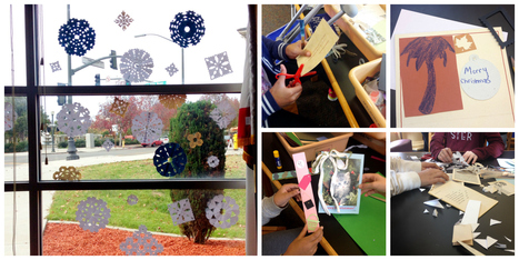 It's That Time of Year! Paper Crafts in the Library | Creativity in the School Library | Scoop.it