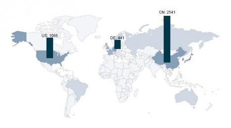 La Chine dépasse les US et l'Allemagne en nombre de brevets | Développement durable et efficacité énergétique | Scoop.it