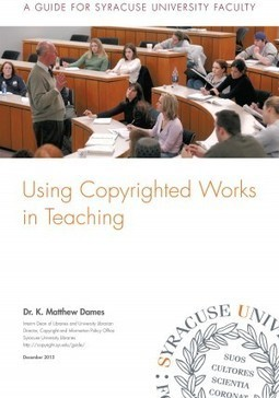 University publishes revised Copyright Guide - Syracuse University News | Library Collaboration | Scoop.it