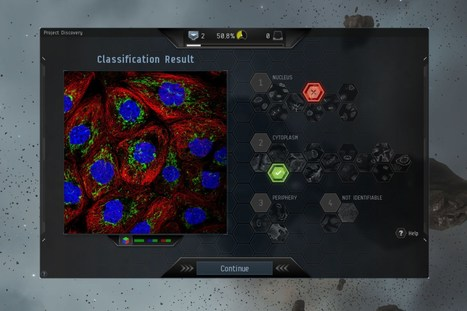 How EVE Online's Project Discovery is remapping human biology | Amazing Science | Scoop.it