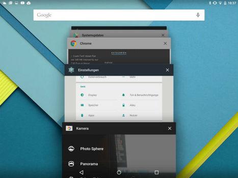 Google y Android 5.0 en tablets de 10 pulgadas, ¿es correcta la estrategía? | Educacion, ecologia y TIC | Scoop.it