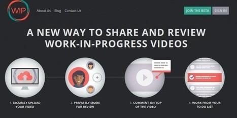 WIP videos – Una plataforma para recibir feedback de los vídeos que estamos creando | Pedalogica: educación y TIC | Scoop.it