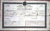 The French Genealogy Blog: Military Documents - The Congé de Libération | GenealoNet | Scoop.it