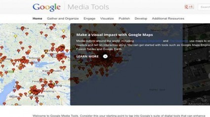 Google Media Tools: Todas las herramientas periodísticas de Google a tu disposición | Periodismo Ciudadano | Periodismo Ciudadano | Scoop.it