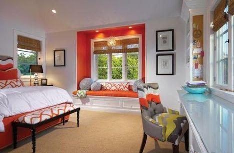 Decorating With Orange Accents: Inspiring Interiors | Designing Interiors | Scoop.it