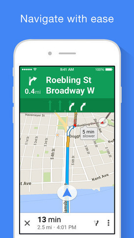 Google Maps iOS app adds full-screen maps, improved voice search & transit directions | Education Technology | Scoop.it