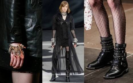 Fashion Week Breaking Trends Fall 2013: Punk Couture - Accessories Magazine | Ac-socialize | Scoop.it