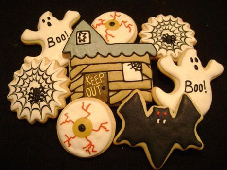Halloween - Cookie Party Favors- Haunted House - Spider Web - Eyeball | Oz Horror Con | Scoop.it