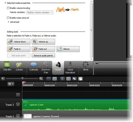 How to create training videos with Camtasia | Web tools, services, applications | Scoop.it
