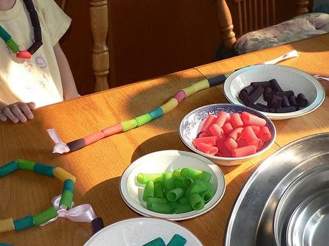Mama Pea Pod: {Making Pasta Necklaces}   Accessories   Scoop.it