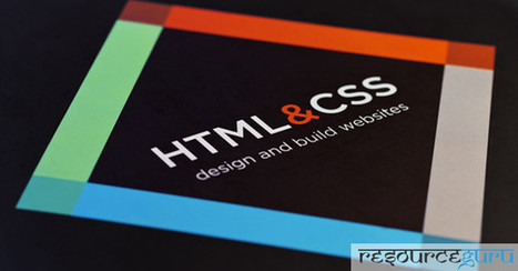 HTML and CSS Design and Build Websites by Jon Duckett - Resource Guru | HTML5 & CSS3 | Scoop.it