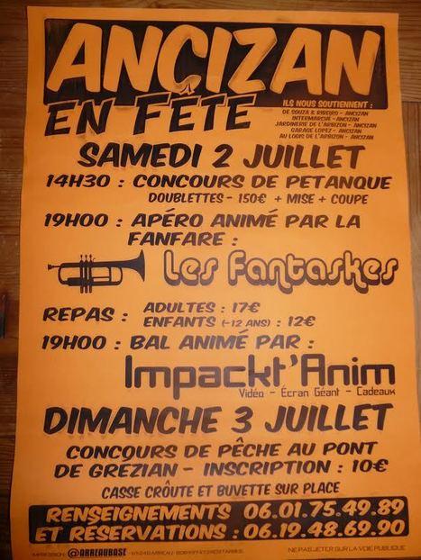 Fête à Ancizan les 2 et 3 juillet | Vallée d'Aure - Pyrénées | Scoop.it