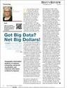 ITModelbook: Got Big Data? Net Big Dollars! | Data Tools, Data Infrastructure and IT Infrastructure | Scoop.it