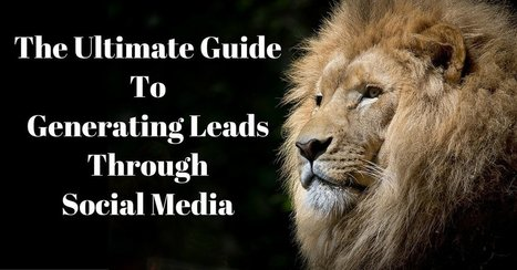 The Ultimate Guide To Generating Leads Through Social Media | Business: Economics, Marketing, Strategy | Scoop.it