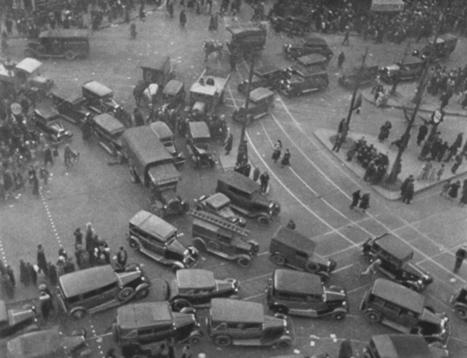 La circulation en 1937 | Histoire(s) de Paris | Auprès de nos Racines - Généalogie | Scoop.it
