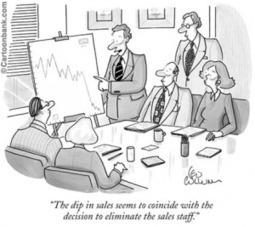 FunnySalesCartoon_SalesForecast.png (300×267)   Business Development   Scoop.it