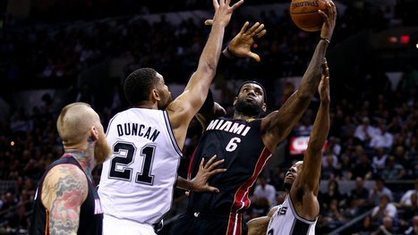 James and the Heat Coolly Even the N.B.A. Finals   NBA 2014   Scoop.it