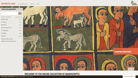 The Walters Debuts New Manuscripts Website | Tudo o resto | Scoop.it
