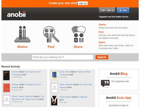 14 redes sociales y comunidades online para fanáticos de la lectura | Lectura 2.0 a la biblioteca escolar | Scoop.it