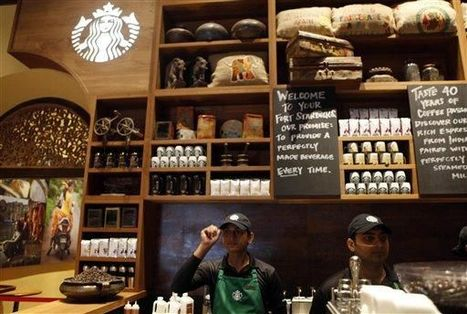 Starbucks opens first store in India - The Times of India | BUSS4 Emerging Markets | Scoop.it