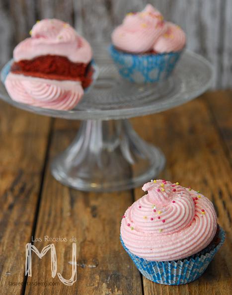 Las Recetas de MJ: VIDEORECETA | RED VELVET CUPCAKES ... | Una nova dèria: cupcakes | Scoop.it